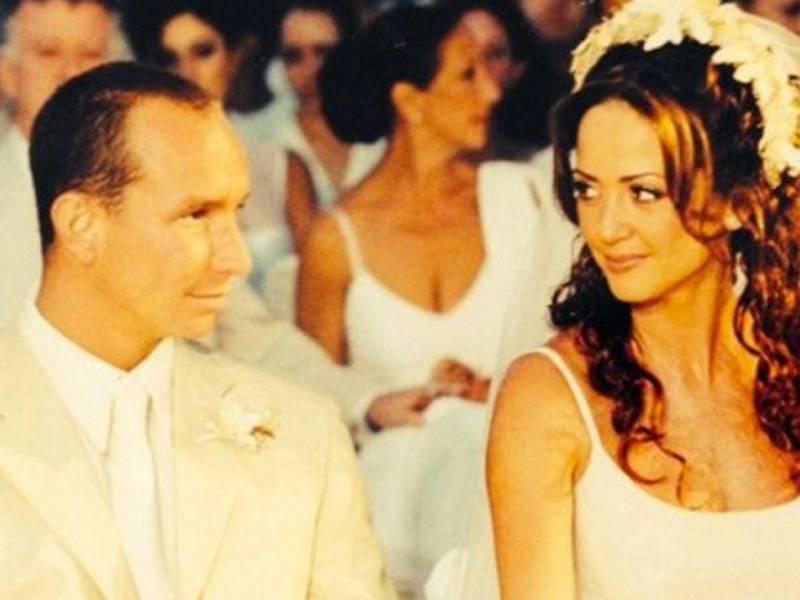 Andrea Legarreta confiesa que se casó virgen